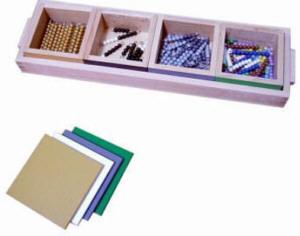 Montessori Schlangenspiel Subtraktion