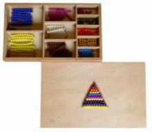 Perlenmaterial 1 bis 10, 19-teilig